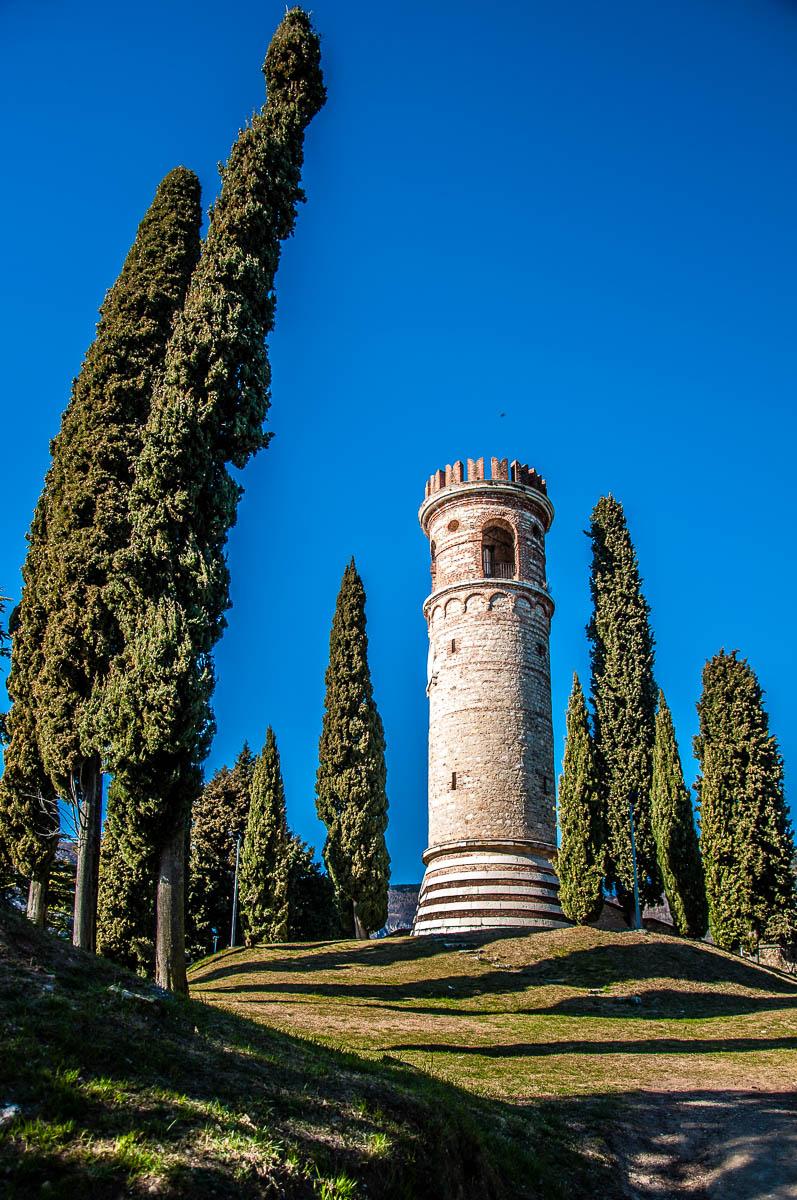 The Ezzelini Tower - Dante's Hill - Col Bastia - Romano d'Ezzelino, Veneto, Italy - rossiwrites.com
