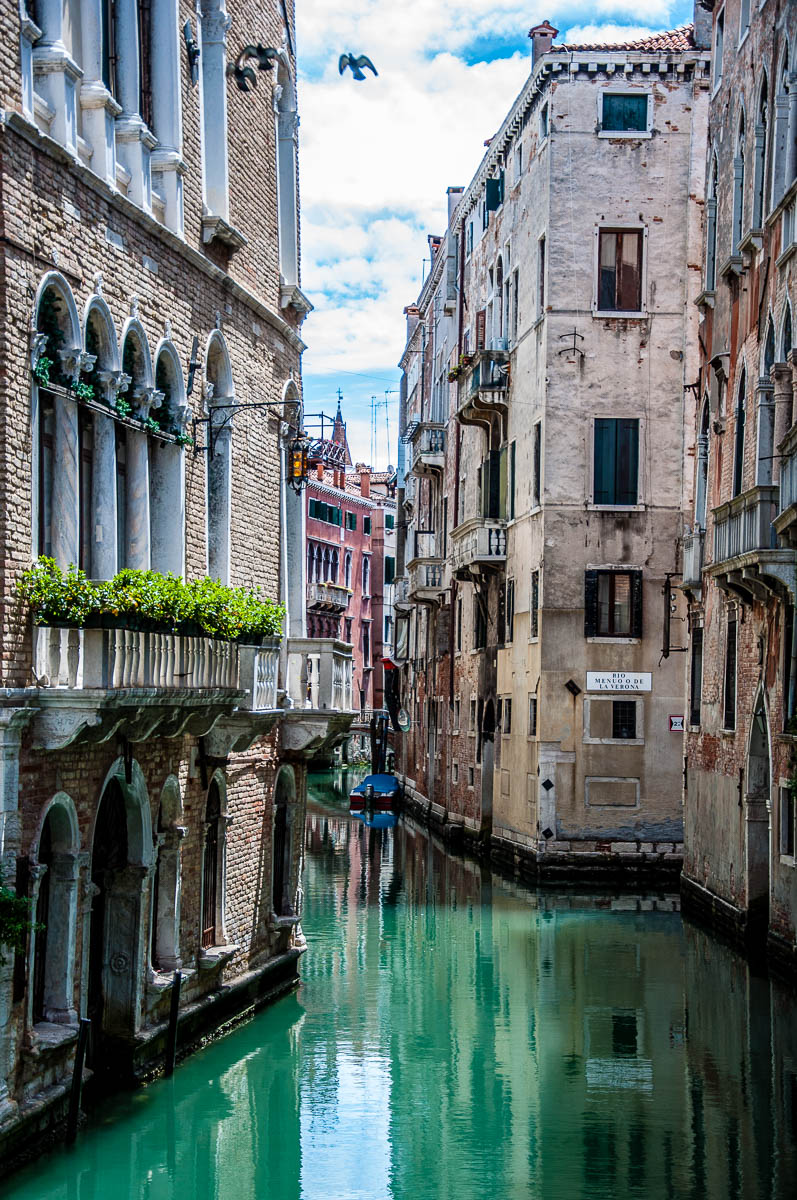 Venetian canal - Venice, Italy - rossiwrites.com