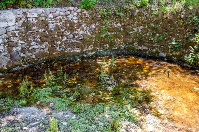 A small pond - Crero, Lake Garda, Veneto, Italy - rossiwrites.com