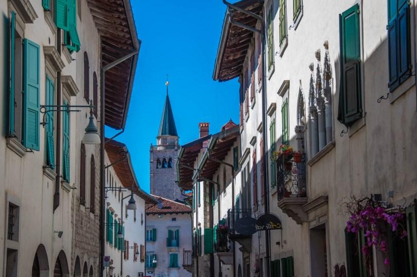 Street in Venzone - Polcenigo, Friuli Venezia Giulia, Italy - rossiwrites.com