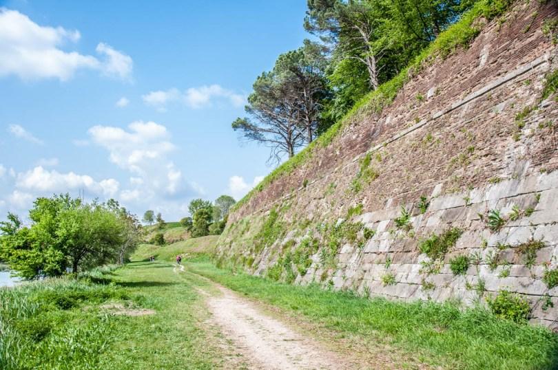 The moat and the bastions - Palmanova, Friuli-Venezia Giulia, Italy - www.rossiwrites.com