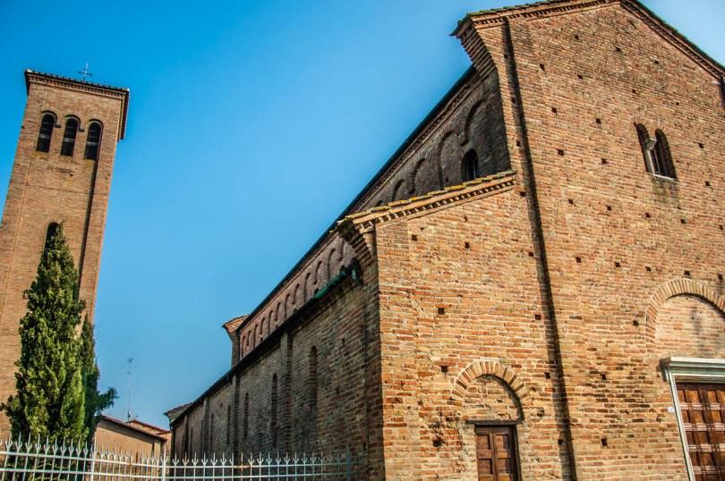 Church of San Pietro in Sylvis - Bagnacavallo, Province of Ravenna - Emilia-Romagna, Italy - rossiwrites.com