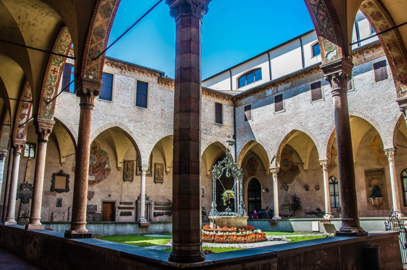 Cloister of the Basilica of St. Anthony - Padua, Veneto, Italy - rossiwrites.com