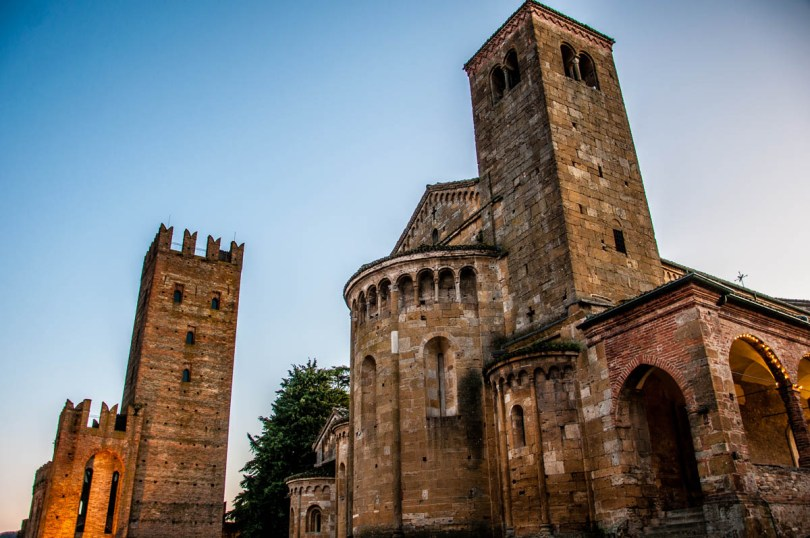The medieval castle and church - Castell'Arquato, Province of Piacenza - Emilia-Romagna, Italy - rossiwrites.com