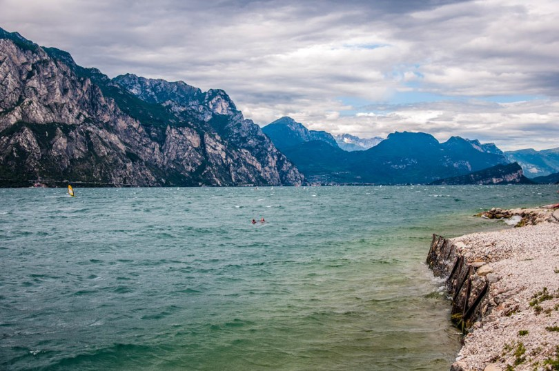 View of Lake Garda - Trentino, Italy -rossiwrites.com