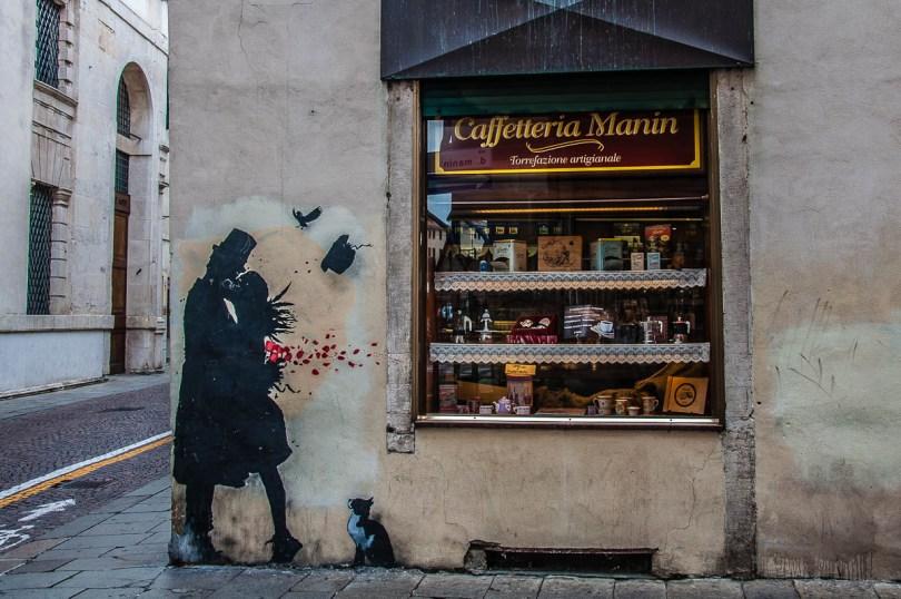 Famous grafitti - Padua, Veneto, Italy - rossiwrites.com