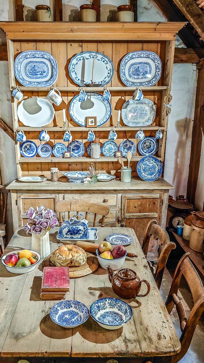 Historic dining room - Kent Life - Maidstone, Kent, England - rossiwrites.com
