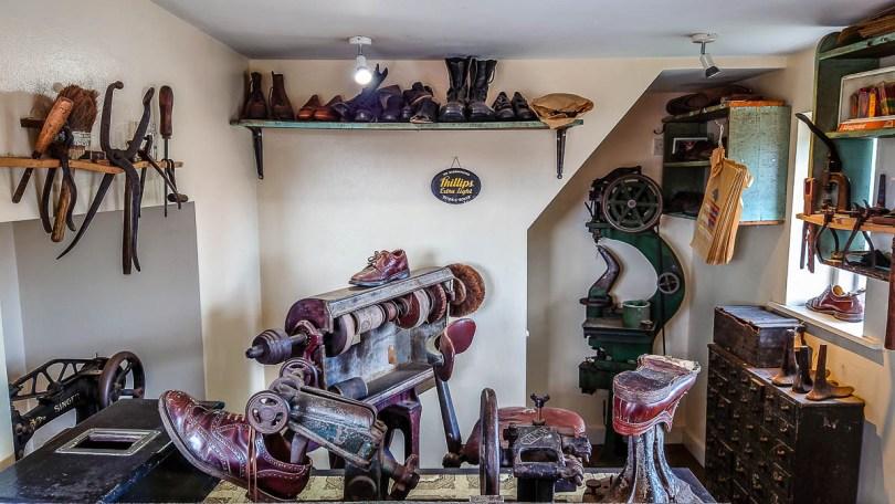 Inside the historic cobbler's - Kent Life - Maidstone, Kent, England - rossiwrites.com