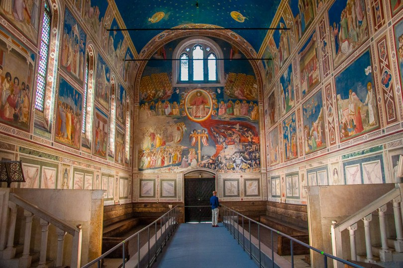 Scrovegni Chapel - Padua, Veneto, Italy - rossiwrites.com