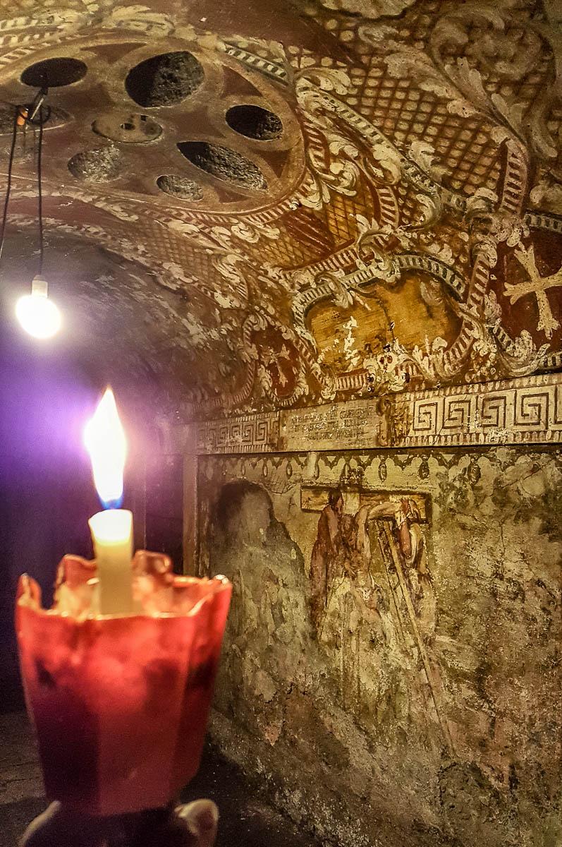 The funerary crypt - Church of San Simeon Piccolo - Venice, Veneto, Italy - rossiwrites.com