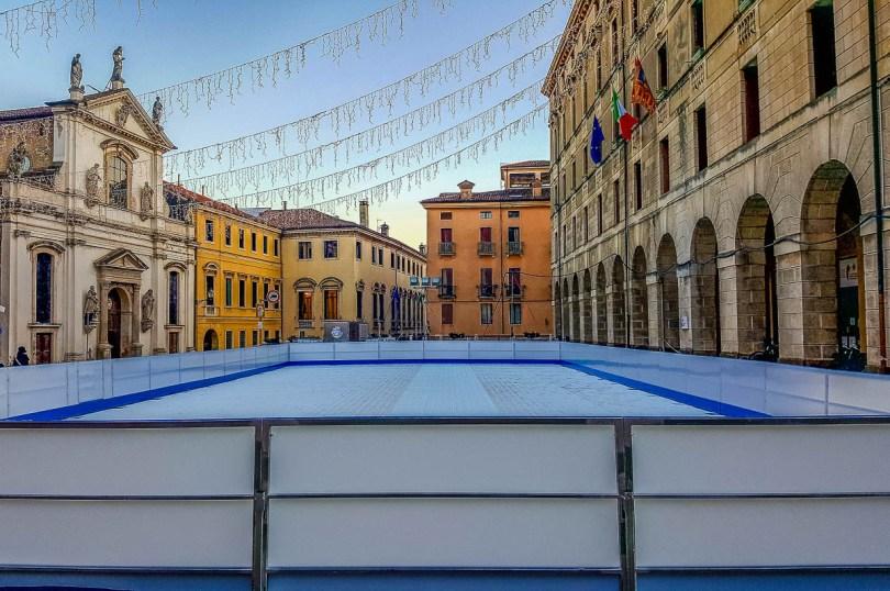 Ice rink - Vicenza, Veneto, Italy - rossiwrites.com