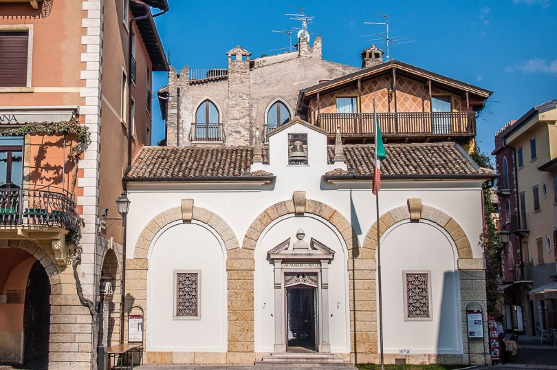 Oratory of the Holy Trinity - Torri del Benaco, Italy - rossiwrites.com