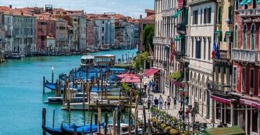 Grand Canal seen from Rialto Bridge - Venice, Italy - rossiwrites.com