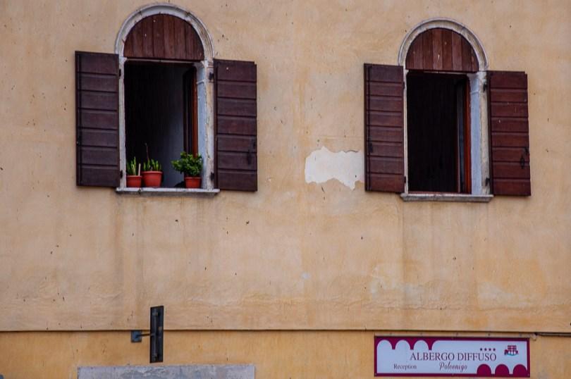 The reception of the Albergo Diffuso in the village of Polcenigo - Friuli Venezia Giulia, Italy - rossiwrites.com
