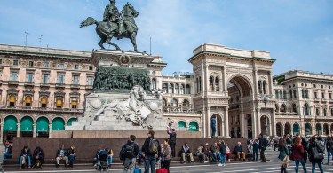 Piazza del Duomo - Milan, Italy - rossiwrites.com