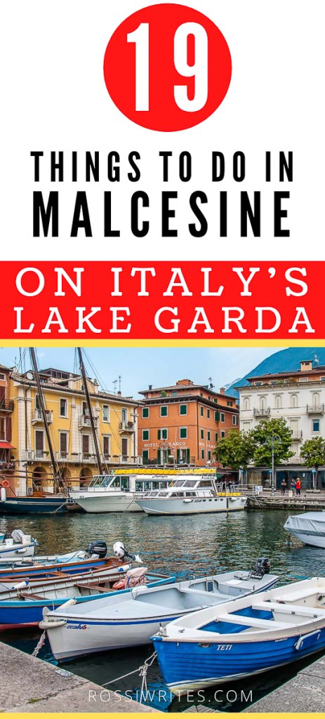 Pin Me - 19 Things to Do in Malcesine, Italy - rossiwrites.com