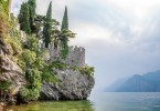Posterna Beach with views of Lake Garda - Malcesine, Italy - rossiwrites.com