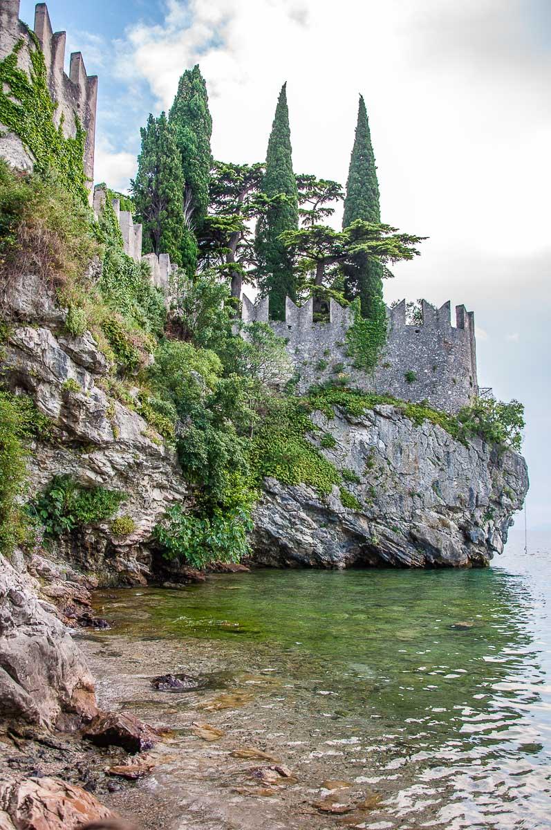 Posterna Beach with views of Lake Garda - Malcesine, Italy - rossiwrites.com