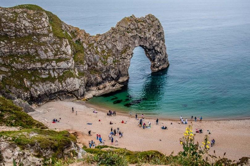 Durdle Door - Dorset, England - rossiwrites.com