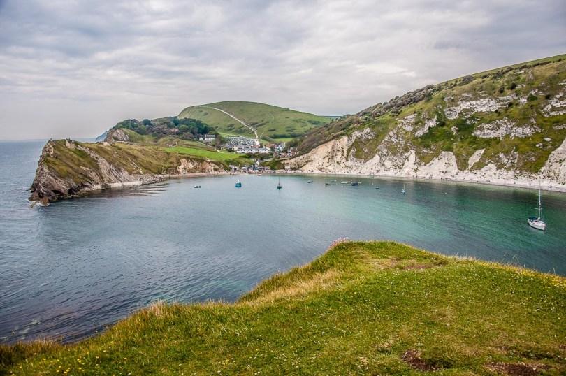 Lulworth Cove on the Jurassic Coast - Dorset, England - rossiwrites.com