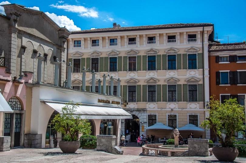 Piazza della Erbe - Riva del Garda, Italy - rossiwrites.com
