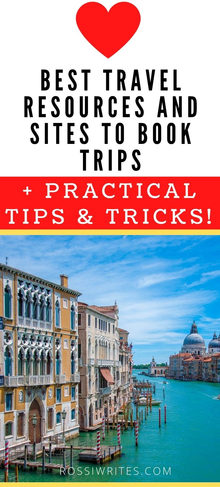 Pin Me - Best Travel Resources to Book Trips - rossiwrites.com