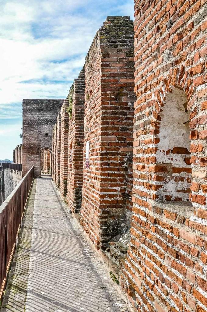 The Ronda Walkway - Cittadella, Italy - rossiwrites.com