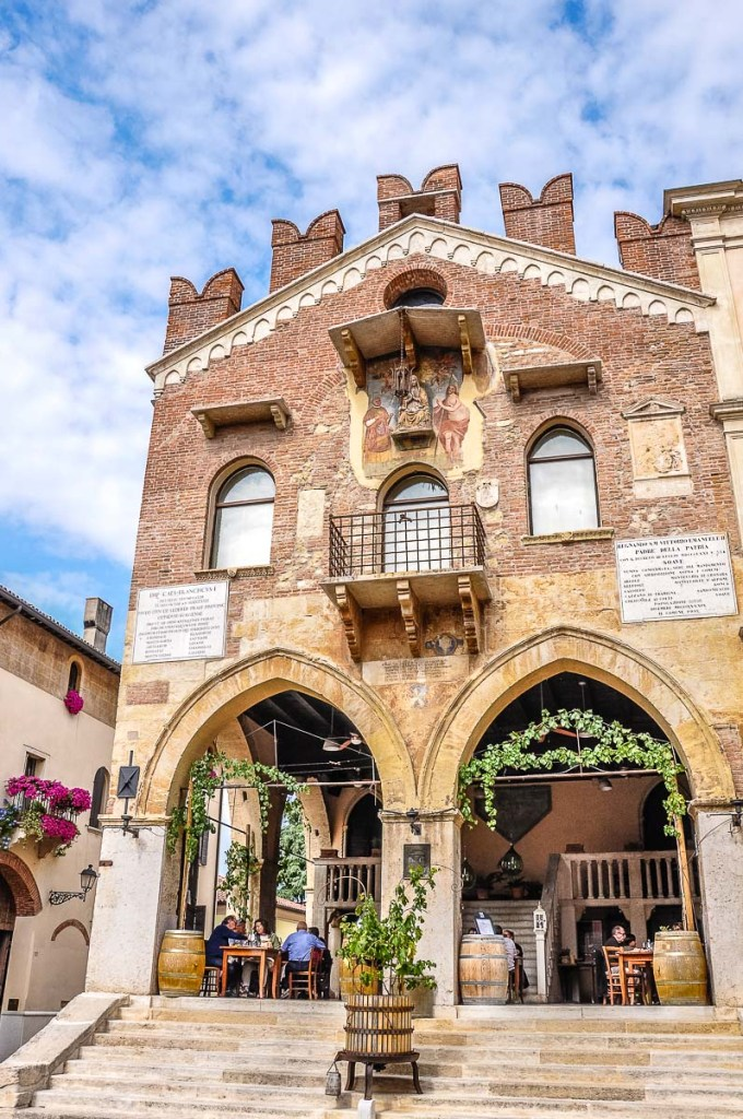 A traditional restaurant in Soave - Veneto, Italy - rossiwrites.com