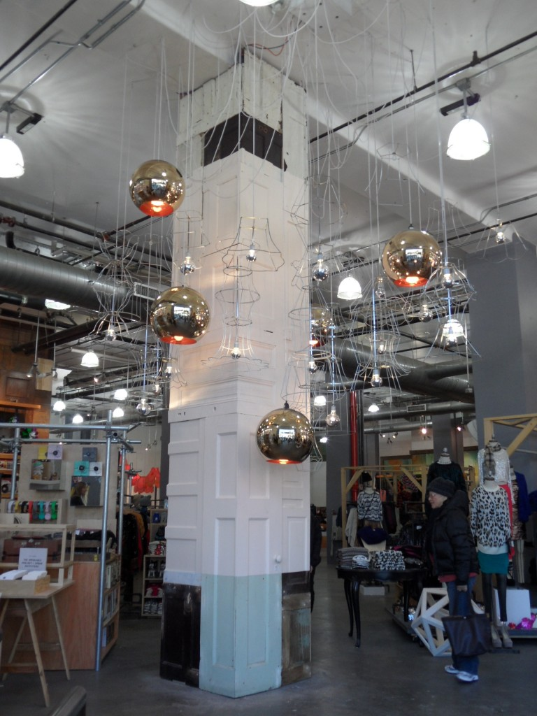 Hanging Light Display  Ross Khalsa