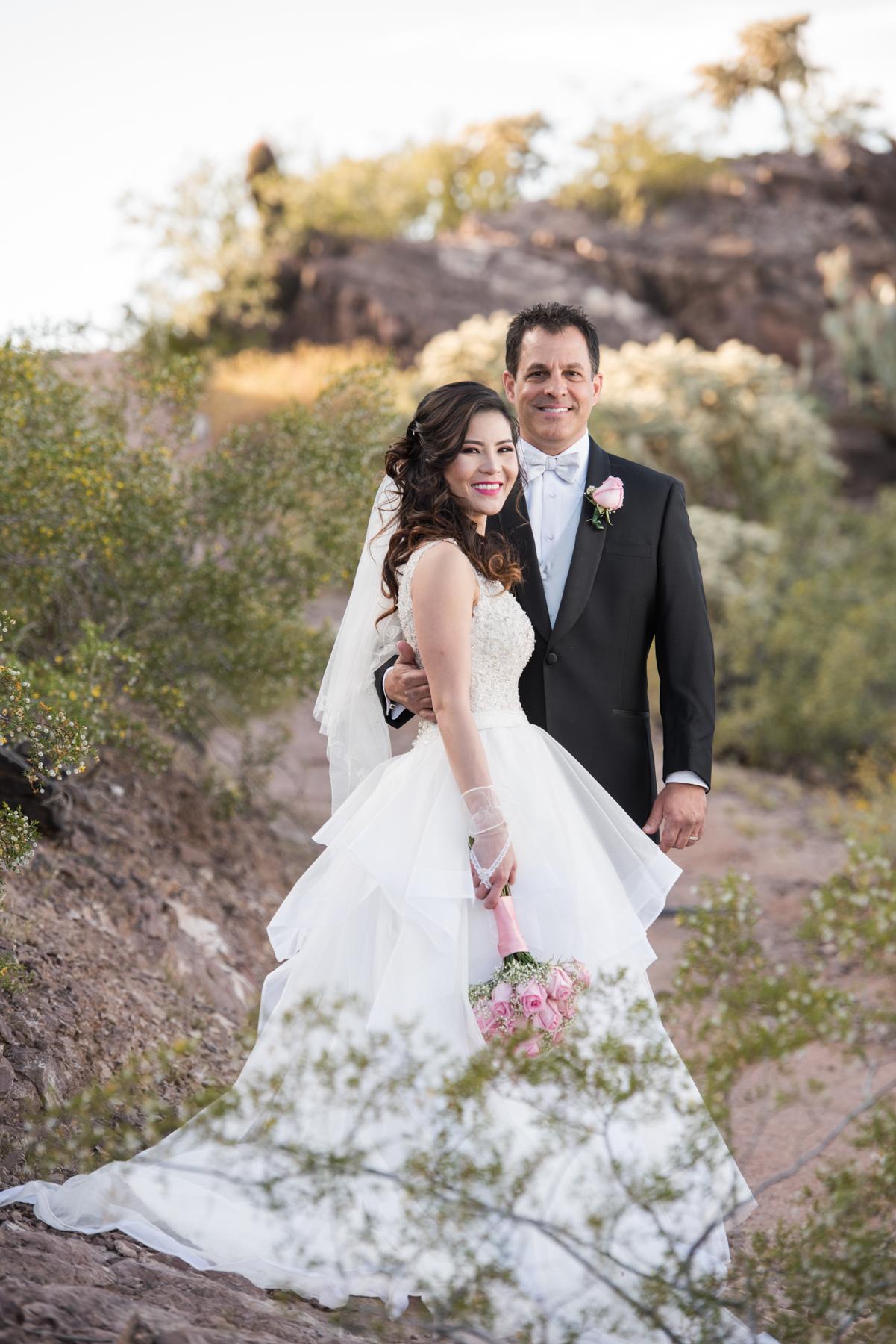 Phoenix Arizona The Butte Marriott Wedding Photographer