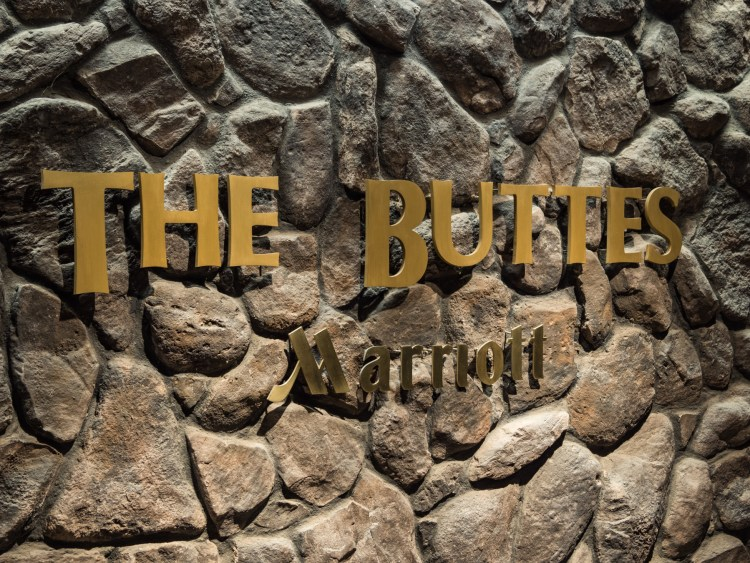 the buttes Marriott
