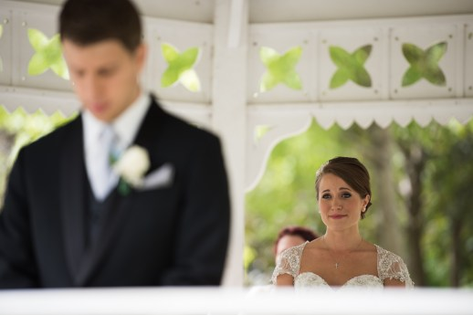 first look Cincinnati wedding