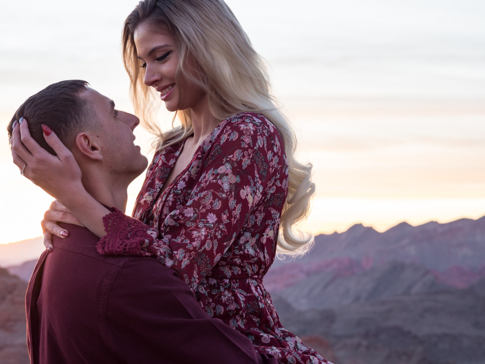 las vegas wedding engagement photographer