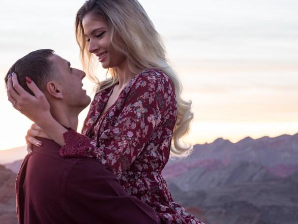 Desert Engagement Session | Las Vegas Photographer |