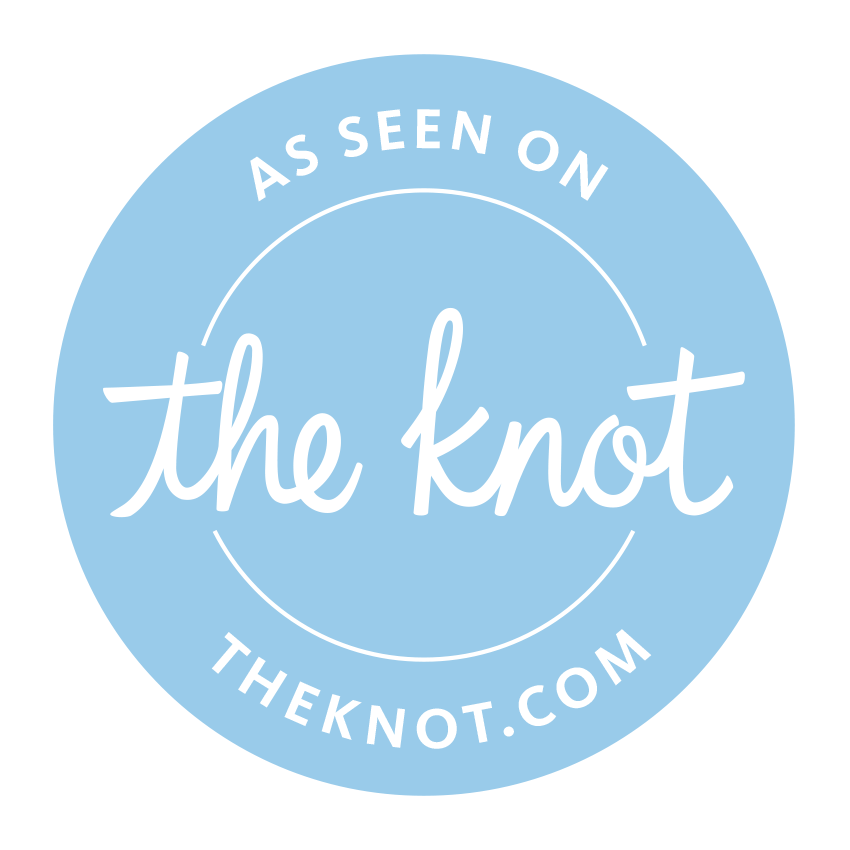 as seen on the knot badge