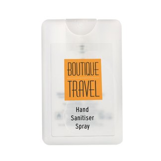 Credit Card Hand Sanitiser Spray, 20ml