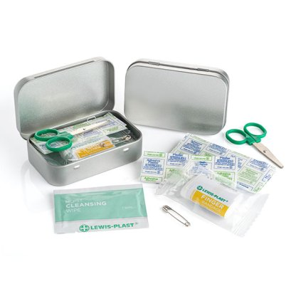 First Aid Kit In A Tin