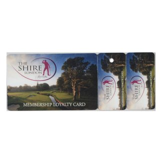 Combi Card With 1 Or 2 Keytags