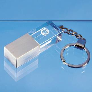 4GB Optical Crystal Memory Stick Keyring