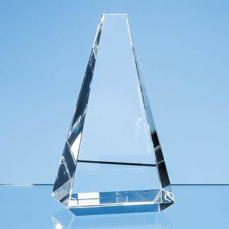 16cm Optical Crystal Vantage Peak Award