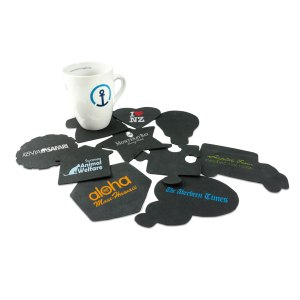 Green & Good Shaped Tyre Coasters - Recycled
