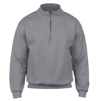 Heavy Blend™ Vintage Zip Neck Sweatshirt