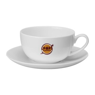 Cappuccino Bone China Cup and Saucer