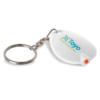 Key ring with LED light