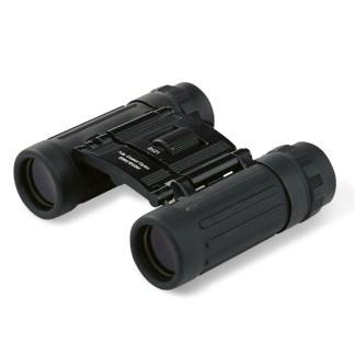 Binoculars with travel case