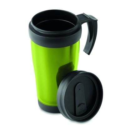 Plastic insulation mug
