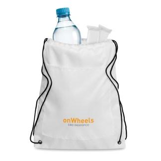 Drawstring cooler bag