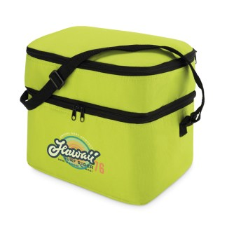 Cooler bag with 2 compartment