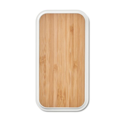 Wireless charger in bamboo