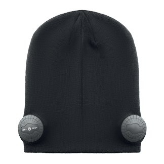 BT beanie with 2 earphones